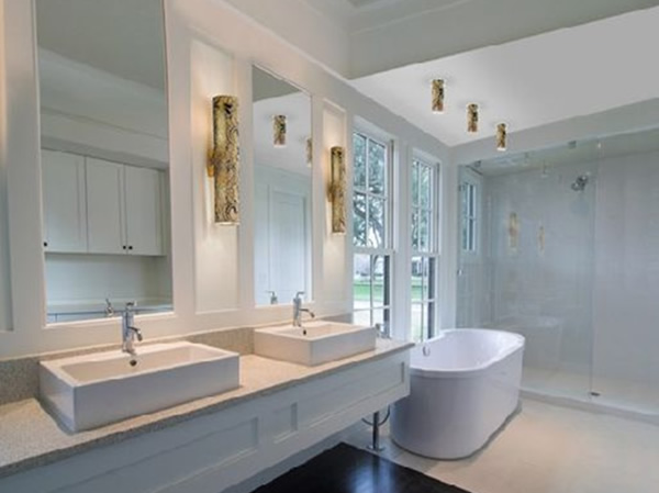 Contemporary Lighting Bathroom